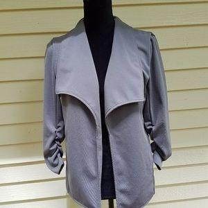 Grace Elements gray blazer size medium